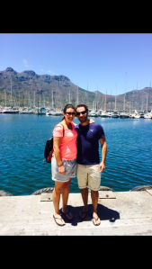 Me and Boyfriend at Houtbay