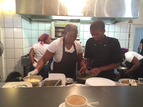 Clarkes Dining - Kitchen